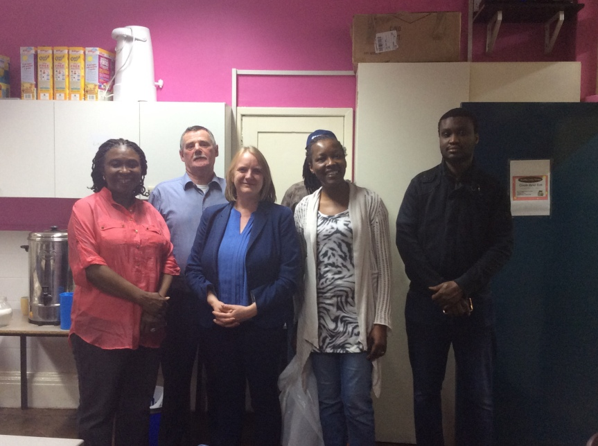 Joanne McCartney AM praises support provided at Canaan Kitchen
