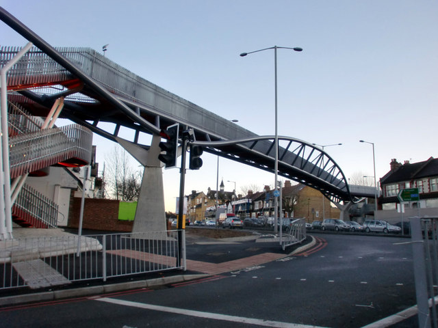 Bowes Road footbridge