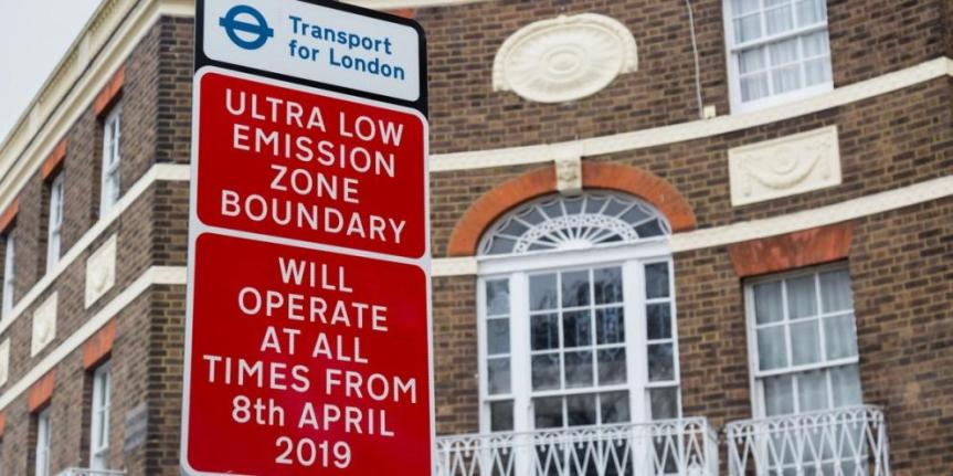 ULEZ launch marks major move forward in tackling capital's toxic air
